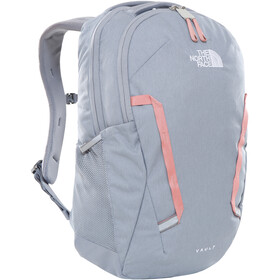 The North Face Vault Rucksack Jugend TNF medium grey heather/pink clay